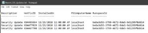 Simple Windows update report in PowerShell