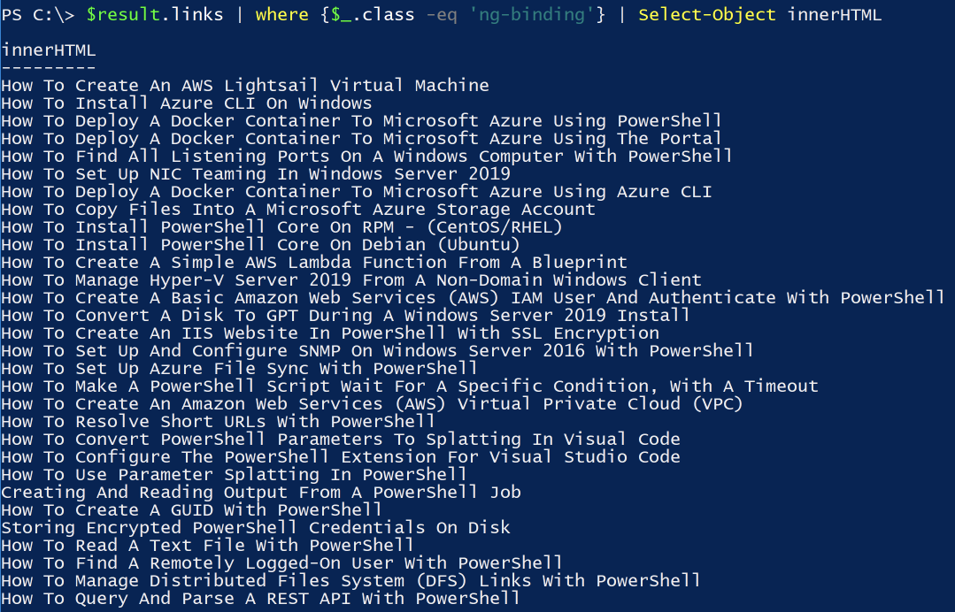 Invoke-WebRequest: PowerShell's Web Swiss Army Knife