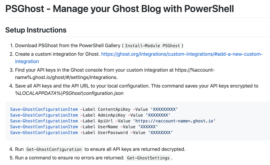 Leverage the Ghost Blogging Platform API for Automation Goodness