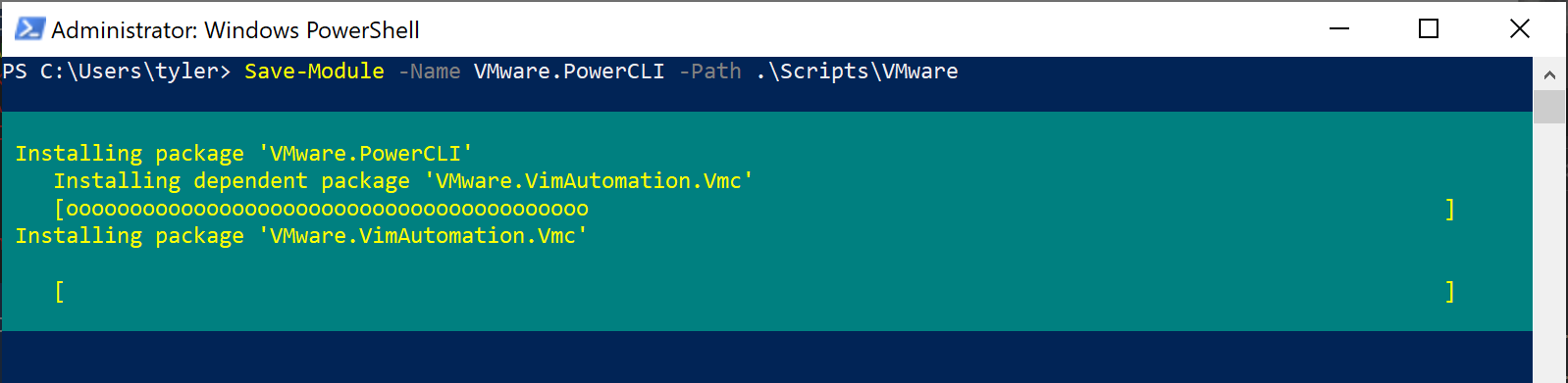 Downloading modules with Save-Module