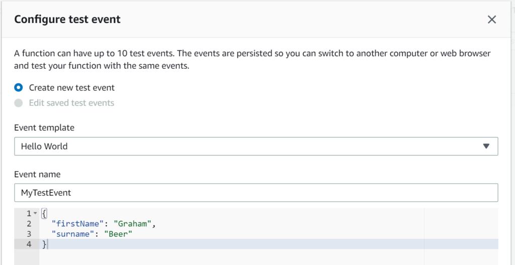 Providing JSON input