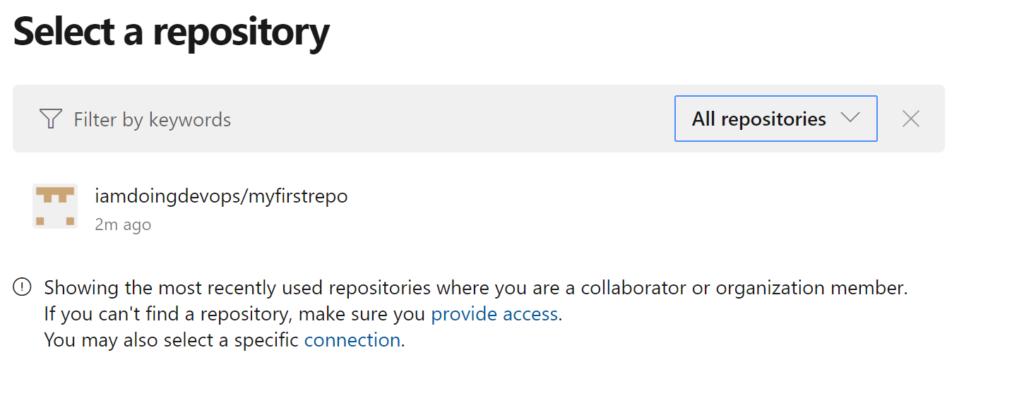 Empty source GitHub repo