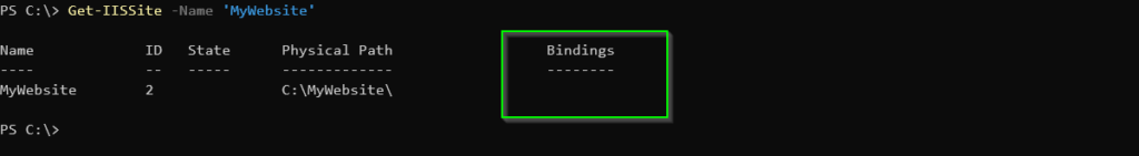 Confirming the old bindings were removed