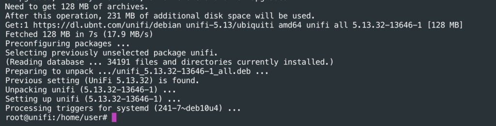 Upgrading Unifi Controller on Linux