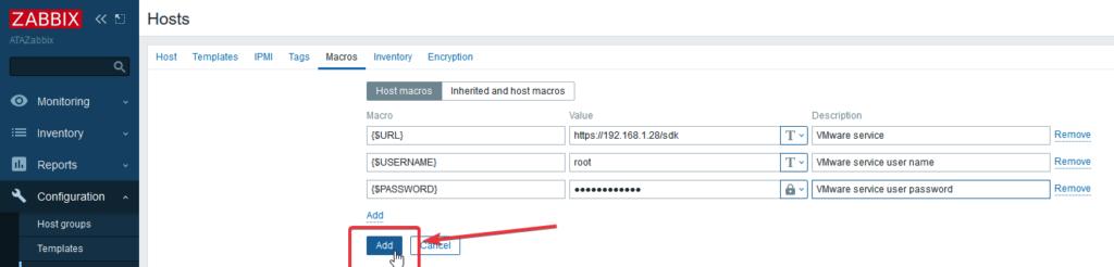 Add Host to Zabbix Server
