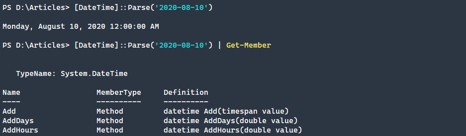 Converting strings to datetime objects