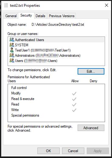 test2.txt security properties