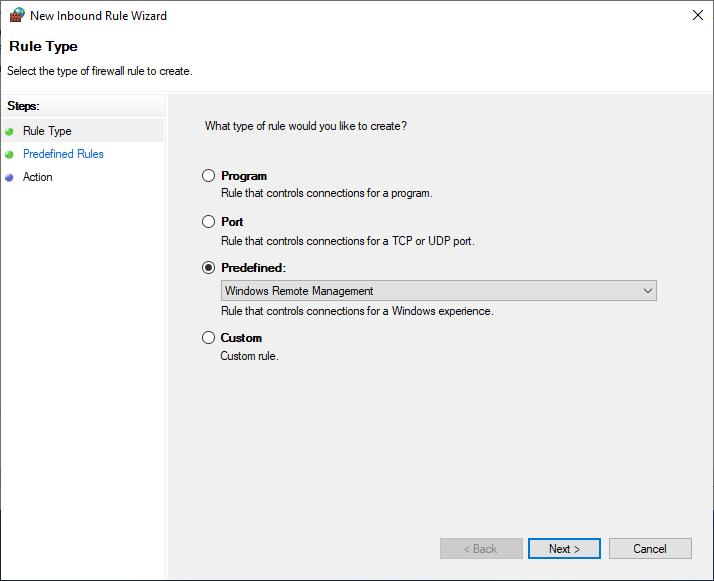 Windows Remote Management