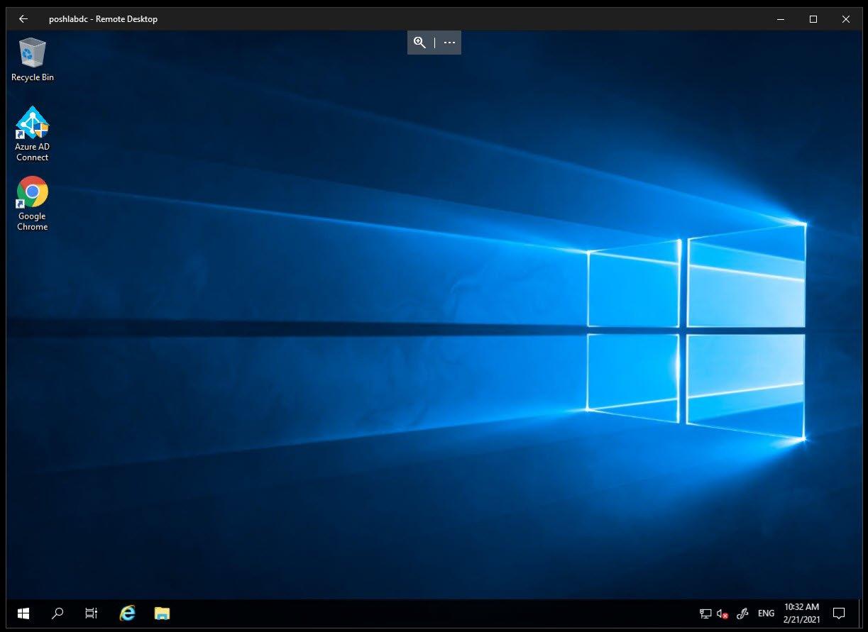 Microsoft Remote Desktop single-window remote desktop connections view