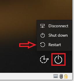 Restarting Windows 10 in safe mode