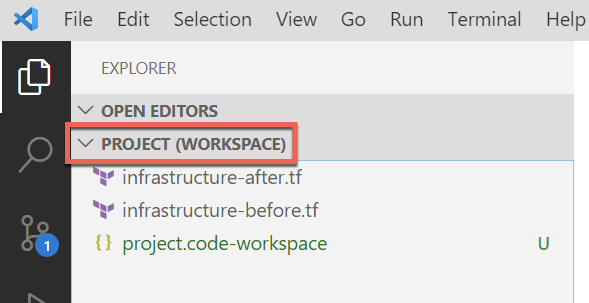 Inspecting a VS Code workspace