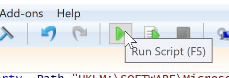 Run the Script