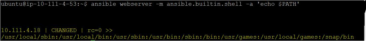 ansible webserver