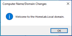 Successfully added to Domain Notification