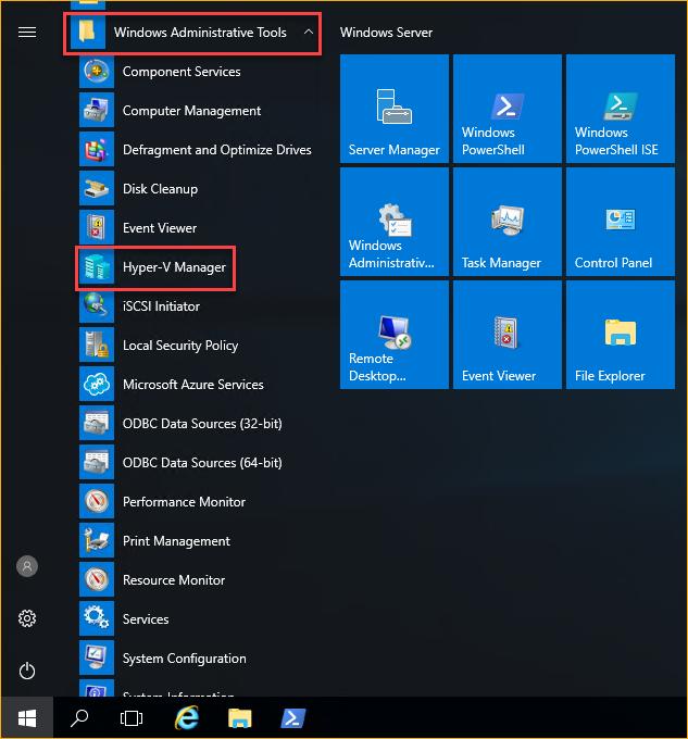 Launching Hyper-V Manager on L1-VM