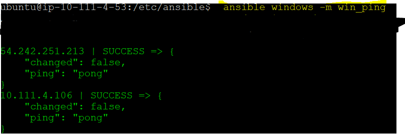 Ansible Windows Feature