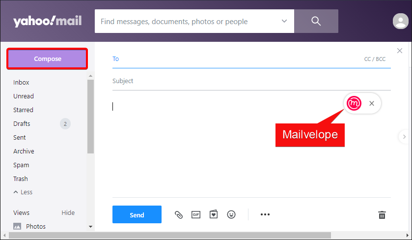 Accessing Mailvelope to Encrypt Email