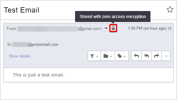 Receiving Unencrypted Email From Another Email Provider