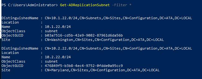 Get Subnet details.