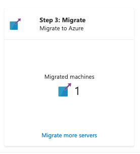 Migration complete
