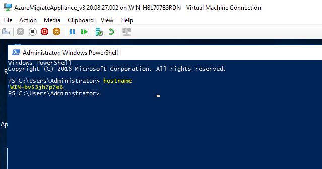 Obtaining server hostname