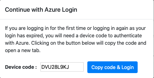 Authorizing with Azure