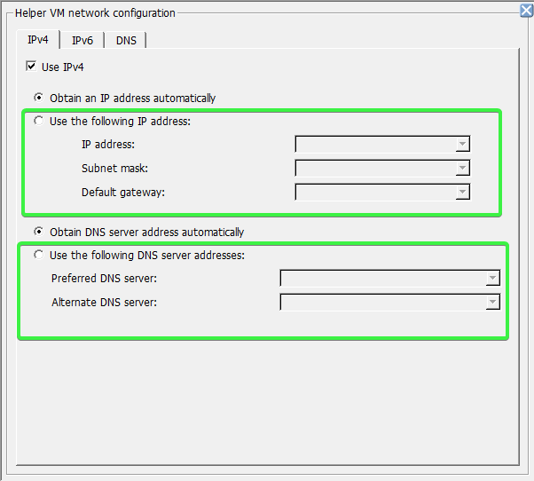 Advanced Configuration Options - Networking