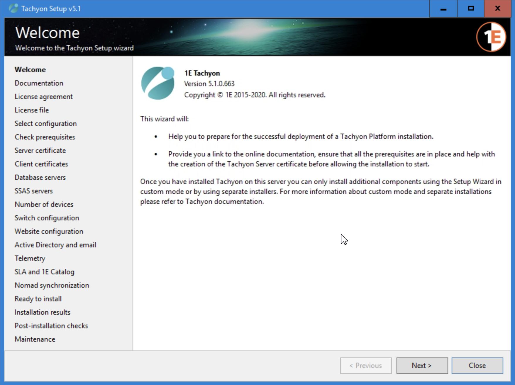 First glance when running the installer, holy installation options, Batman!