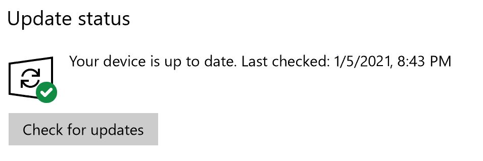 Windows Update Service is Good