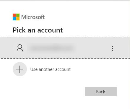 Azure Account Authentication