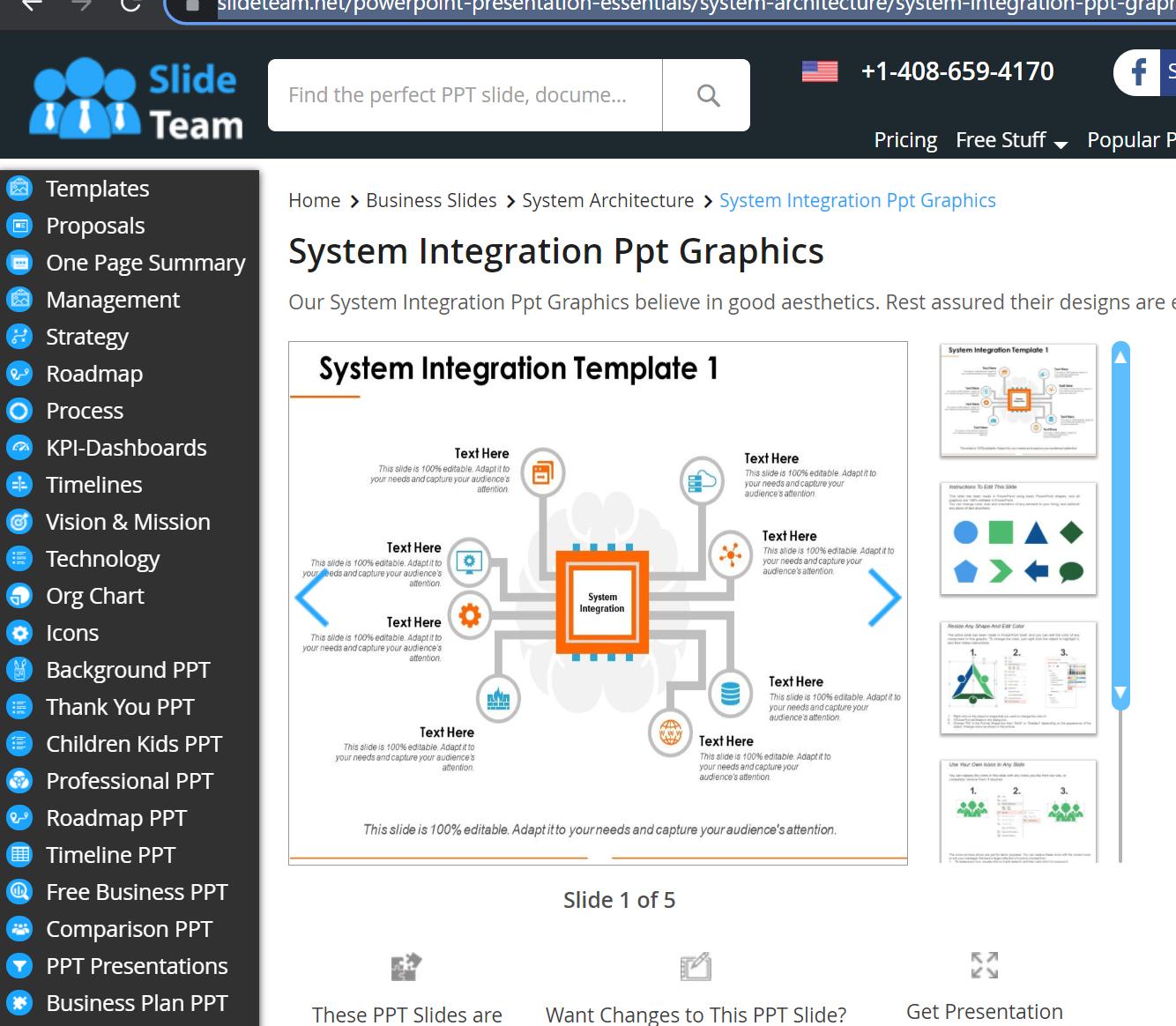 Slide Team Diagram Sample