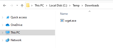 Confirming File is Successfully Downloaded