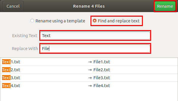 Replacing Texts in File Names