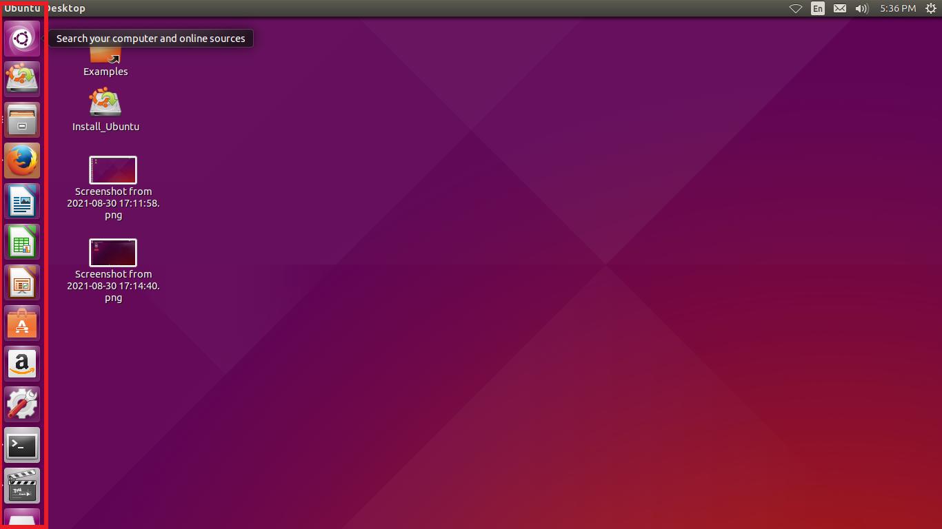 Accessing the Launcher programs through GUI
