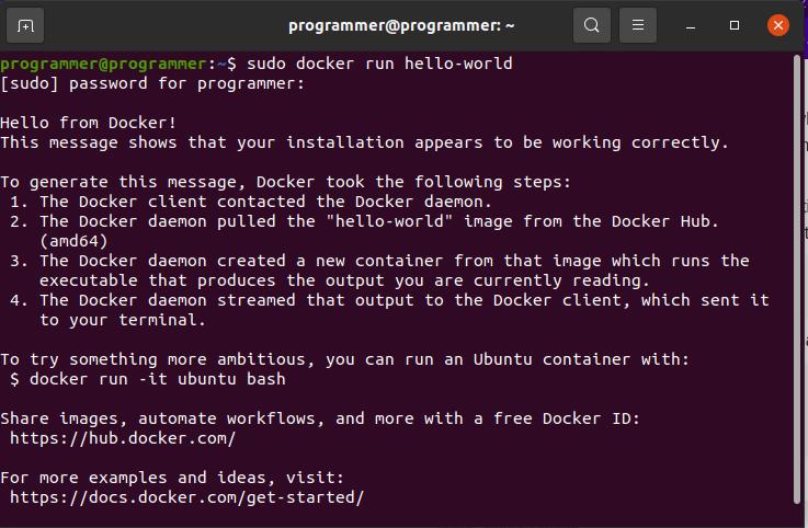 Running Elevated (sudo) Docker Commands